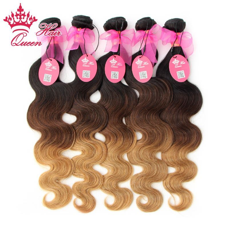 Queen Hair Products Brazilian Ombre Hair Extensions Brazilian Virgin
